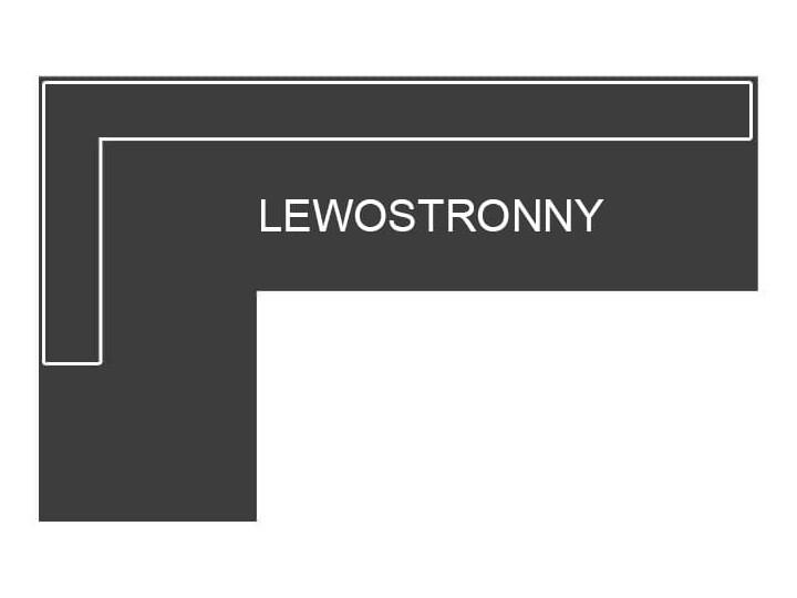 NOWOCZESNY NAROŻNIK WYPOCZYNKOWY Z POJEMNIKIEM - MILANO - TKANINA VELUTTO Wysokość 99 cm Kolor Szerokość 234 cm Stała konstrukcja W kształcie L Typ Gładkie