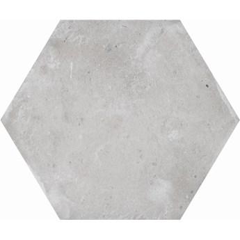 Hexa Cottage Grey 14x16 płytki heksagonalne szare