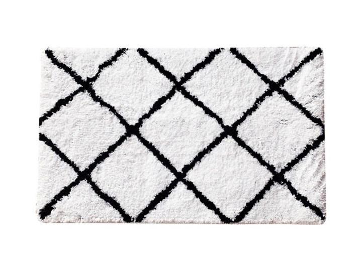 Dywanik łazienkowy Aetna 40 x 60 cm Prostokątny 40x60 cm Kolor Biały