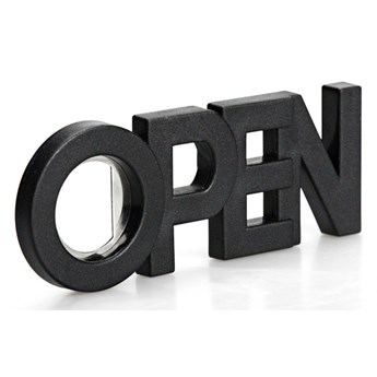 Otwieracz do butelek z magnesem Open czarny 10239-BK kod: QL10239-BK