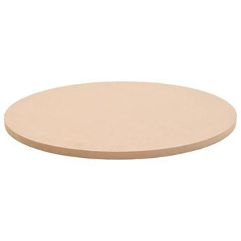 VidaXL Blat stołu, okrągły, MDF, 600 x 18 mm