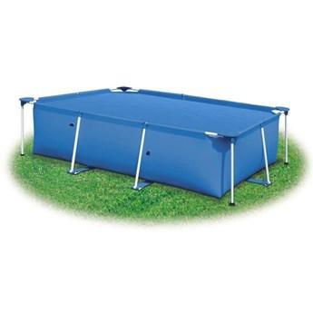 VidaXL Pokrywa na basen, niebieska, 488 x 244 cm, PE