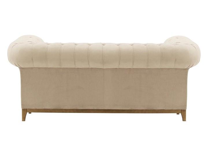 Sofa dwuosobowa Chesterfield Grand Głębokość 92 cm Szerokość 190 cm Nóżki Na nóżkach Pomieszczenie Salon