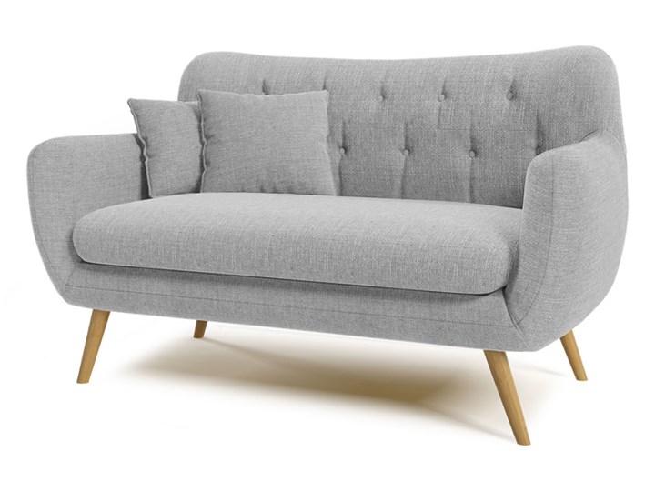 Sofa dwuosobowa Revive Stała konstrukcja Głębokość 84 cm Styl Skandynawski Kolor Szary