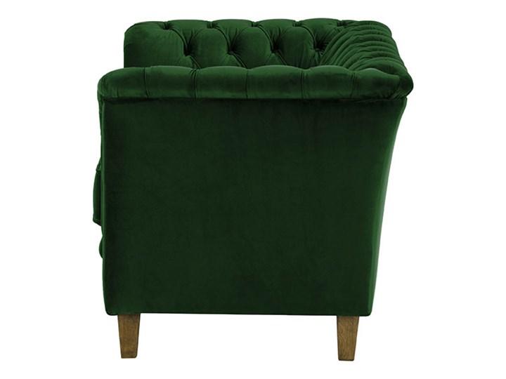 Sofa dwuosobowa Karin Chesterfield Styl Vintage Typ Gładkie