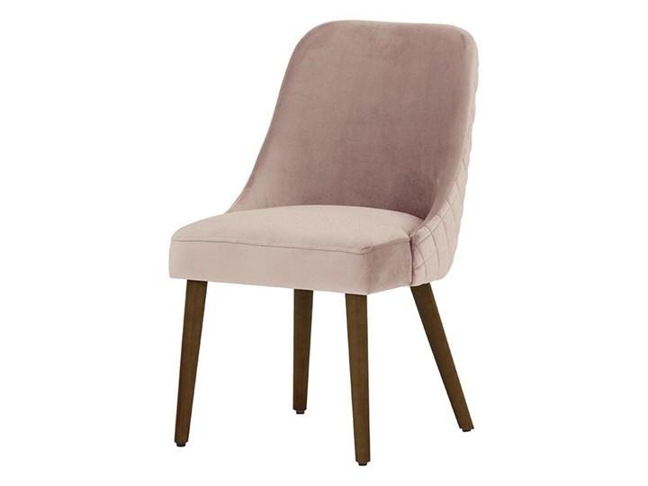 Krzesło z przeszyciami Albion Głębokość 58 cm Szerokość 51 cm Drewno Tkanina Pikowane Wysokość 87 cm Kolor Beżowy Kategoria Krzesła kuchenne
