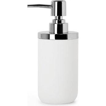 Dozownik do mydła 7x17,8cm Umbra Junip biało-srebrny kod: 1008027-153