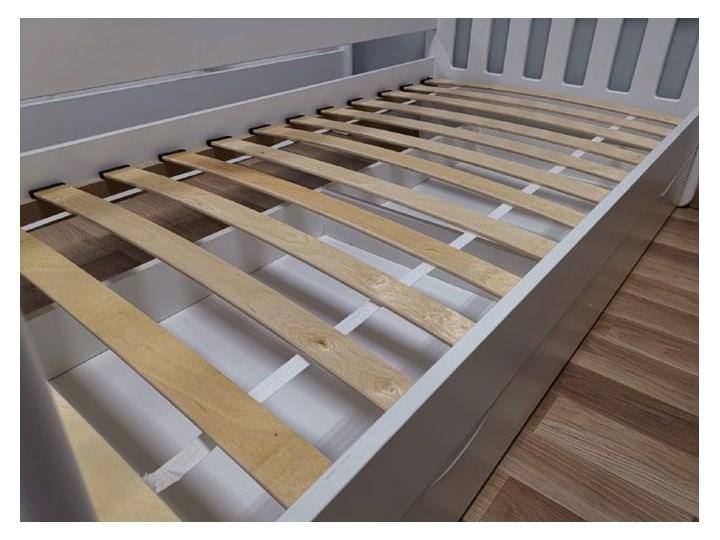 Łóżko dla dziewczynki z barierką Pinokio 3X 80x180 - różowe Płyta meblowa Drewno Płyta MDF Kategoria Łóżka dla dzieci