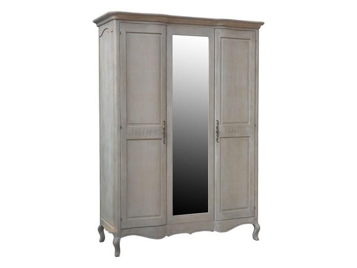 Szafa 3-drzwiowa CHARLOTTE beige Kolor Beżowy Kategoria Szafy do garderoby