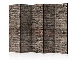 Parawan 5-częściowy - Stara cegła II [Room Dividers]