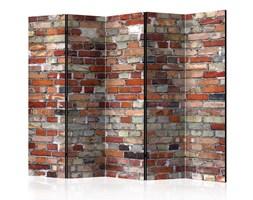Parawan 5-częściowy - Miejska cegła II [Room Dividers]