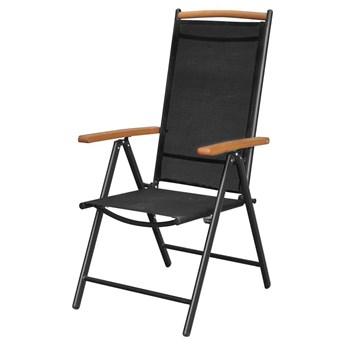 Komplet ogrodowych krzeseł składanych Amareto 4 szt.