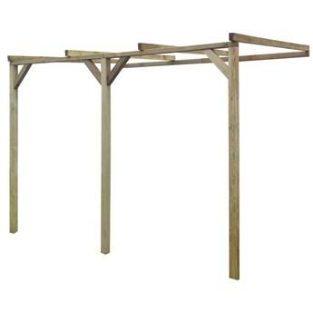 VidaXL Pergola przyścienna, 2 x 3 x 2,2 m, drewno