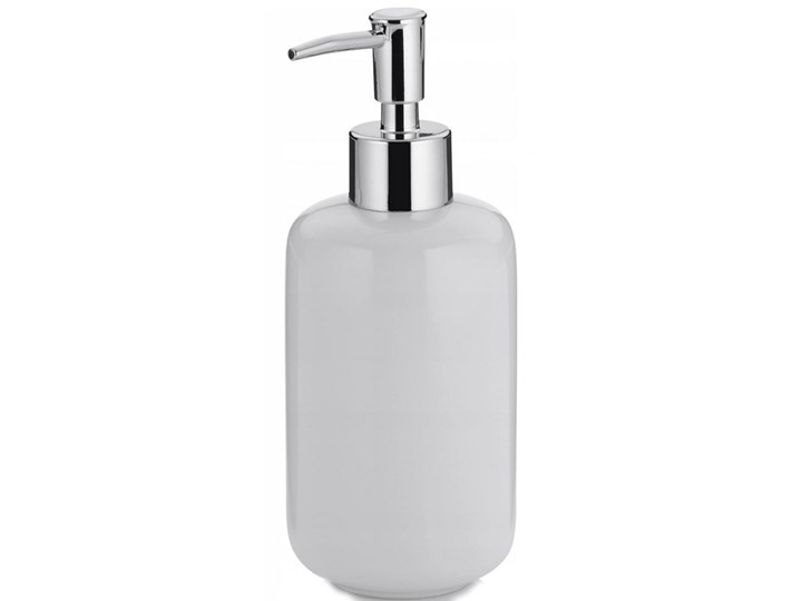 Dozownik na mydło ceramiczny 400ml Kela Isabella biały kod: KE-20502