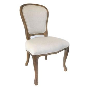 Krzesło LUDWIK dąb/krem