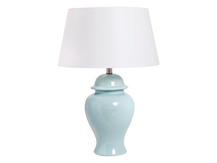 Lampa ceramiczna ORDOS do salonu Lampa z abażurem Kategoria Lampy stołowe