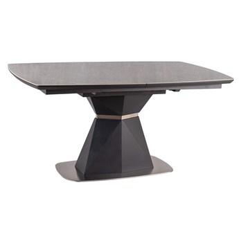 Szary stół rozkładany Cortez Ceramic 160-210 efekt marmuru