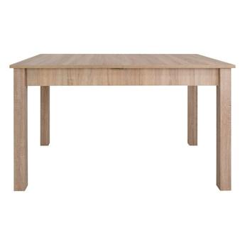 SELSEY Stół rozkładany Eagor 125-165x80 cm dąb sonoma