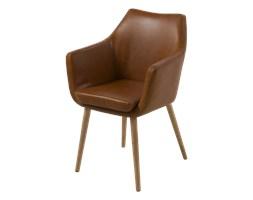 SELSEY Krzesło Marcelio jasny brąz
