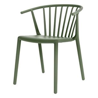 SELSEY Krzesło Woody zielone