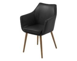 SELSEY Krzesło Marcelio czarne