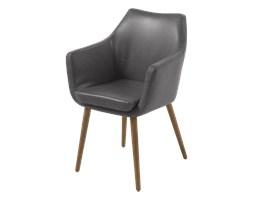 SELSEY Krzesło Marcelio szare