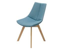SELSEY Krzesło Garica niebieskie