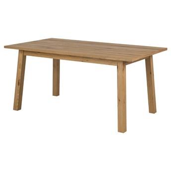 SELSEY Stół Patsi 160x90 cm z fornirem dębowym