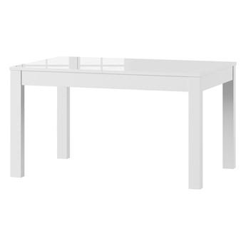 SELSEY Stół rozkładany Ligos 136-210x90 cm biały połysk