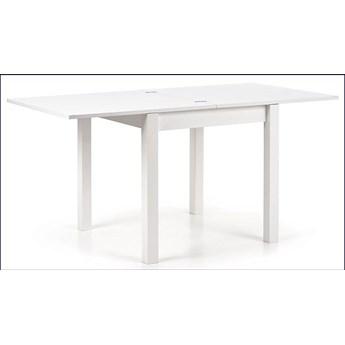 Kwadratowy rozkładany stół kuchenny Cubires - biały