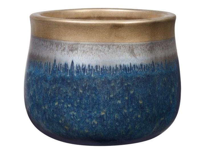 Doniczka Cosmos 23 cm rame/blue Doniczka na kwiaty Ceramika Kolor