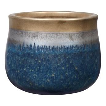 Doniczka Cosmos 40 cm rame/blue