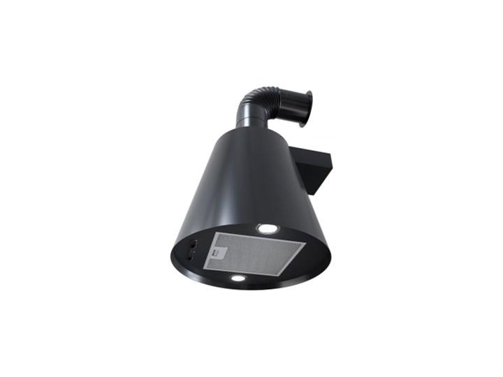 Okap przyścienny SeeNERGY RETRO Okap teleskopowy Okap kominowy Kolor Szary