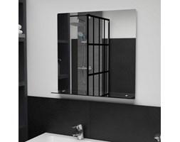 Lustro ścienne z półką, 60x60 cm, hartowane szkło kod: V-249439