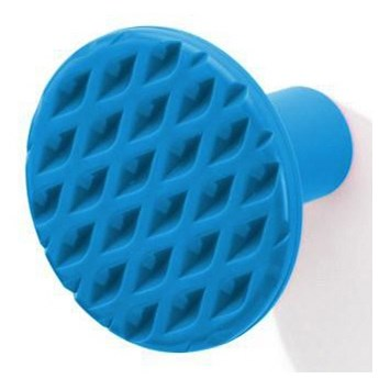 Wieszak łazienkowy ścienny PO niebieski kod: P05756