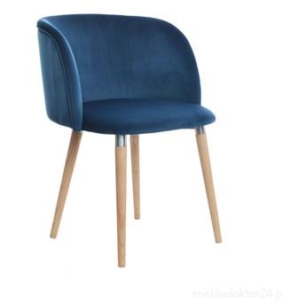 Krzesło Luna Chair tapicerowane