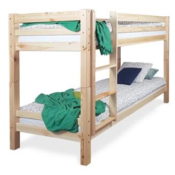 Łóżko Carmen piętrowe sosnowe 90x200