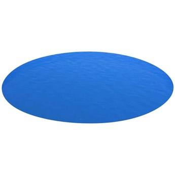 VidaXL Plandeka na okrągły basen, 549 cm, PE, niebieska