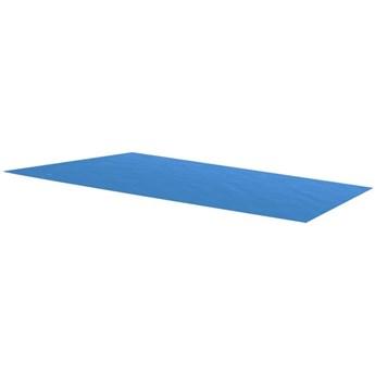 VidaXL Plandeka na prostokątny basen, 260 x 160 cm, PE, niebieska