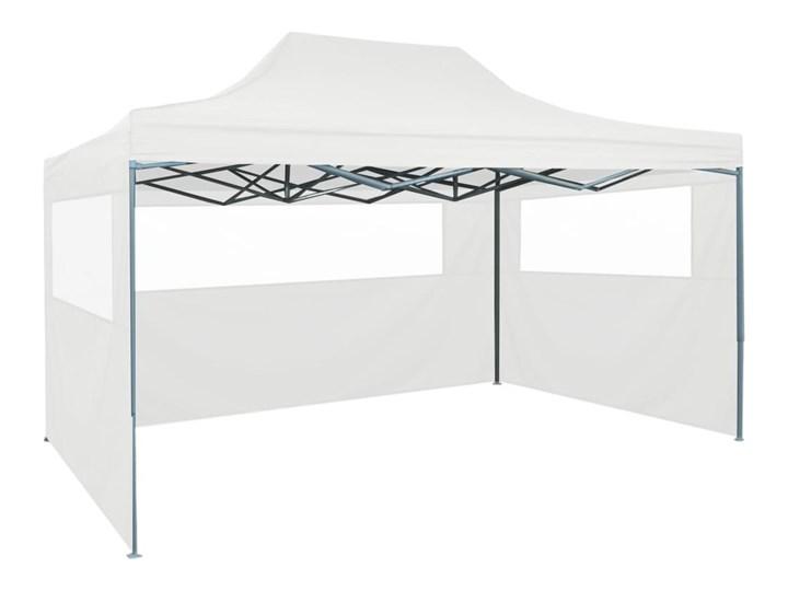 VidaXL Rozkładany namiot imprezowy z 3 ściankami, 3 x 4,5 m