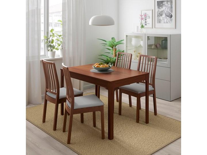 IKEA EKEDALEN / EKEDALEN Stół i 4 krzesła, brązowy/Orrsta jasnoszary, 120/180 cm Kategoria Stoły z krzesłami