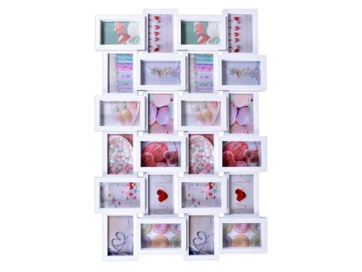Ramka na zdjęcia SOLANO - 24 zdjęcia - biała Kategoria Ramy i ramki na zdjęcia Tworzywo sztuczne Rozmiar zdjęcia 10x15 cm