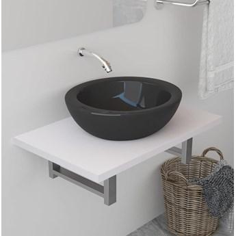 VidaXL Mebel łazienkowy, biały, 60 x 40 x 16,3 cm
