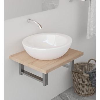 VidaXL Mebel łazienkowy, dąb, 40 x 40 x 16,3 cm