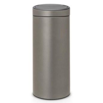 Kosz na śmieci BRABANTIA 115363 Touch Bin 30L Platynowy