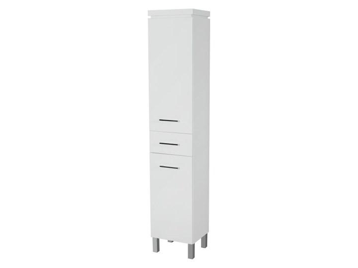 Słupek łazienkowy Cersanit Olivia 35 x 180 x 30 cm biały