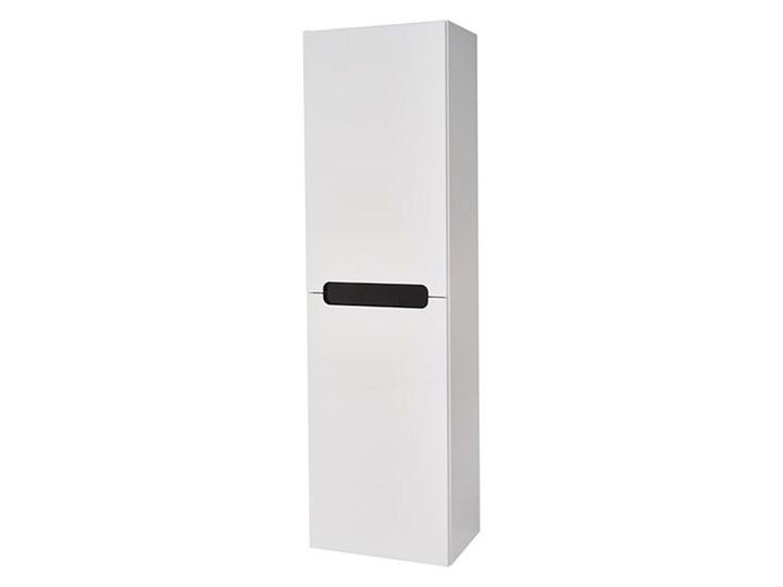 Słupek łazienkowy wysoki Deftrans Milano 40 x 134 x 30 cm biały
