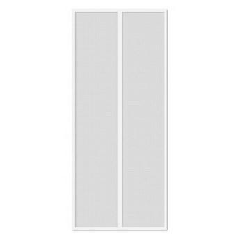 Moskitiera magnetyczna na drzwi - biały