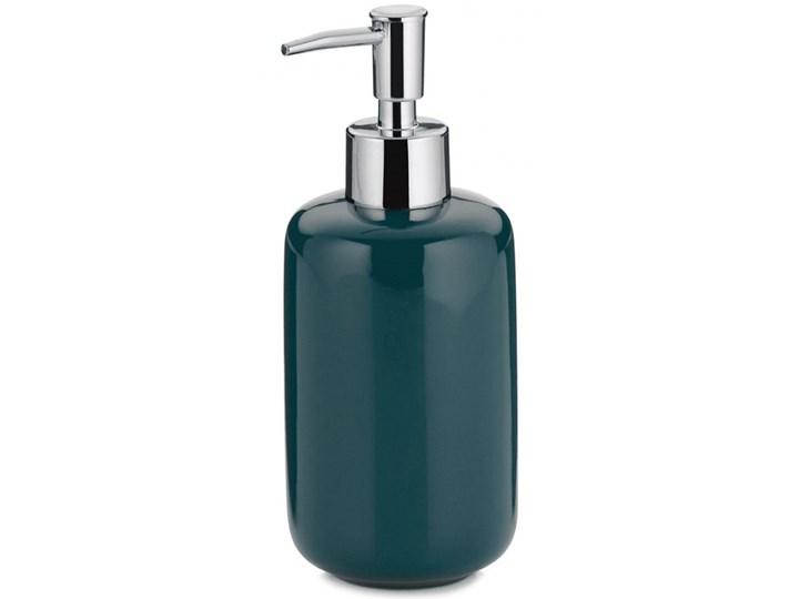 Dozownik na mydło w płynie 400ml Kela ciemnozielony kod: KE-20514 Dozowniki Ceramika Kategoria Mydelniczki i dozowniki