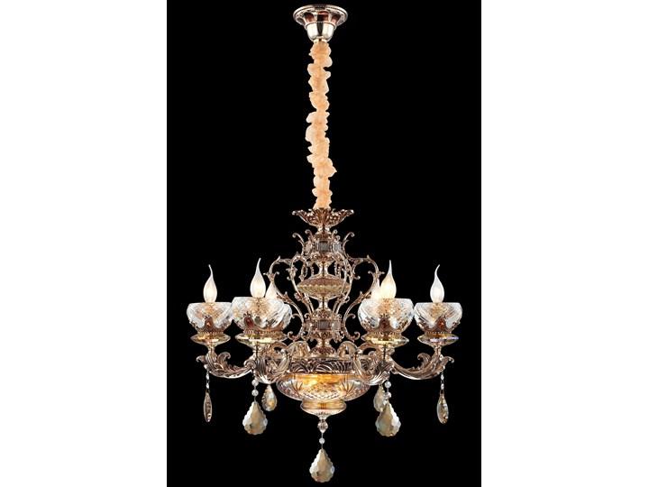 Ekskluzywny złoty żyrandol 51937-01-P06-SG DANETTE SALON SYPIALNIA JADALNIA HOTEL LUCEA